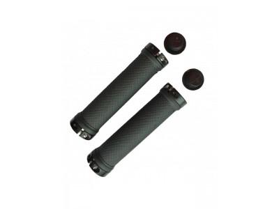 грипсы LTX SR-70 черного цвета / резиновые с замками